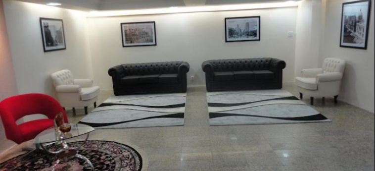 Hotel Dann Inn Porto Alegre: Lobby PORTO ALEGRE