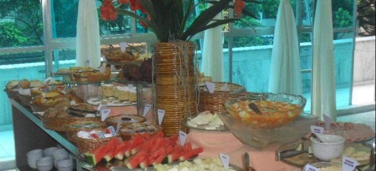 Hotel Dann Inn Porto Alegre: Petit Déjeuner PORTO ALEGRE