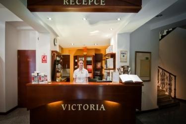 Hotel Victoria: Lobby PRAG