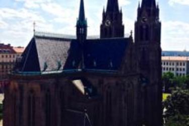 Hotel Wandering Praha B&b: Pista de Tenis PRAGA