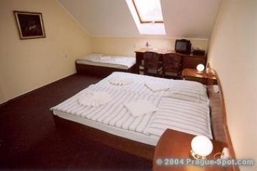 Hotel U Hvezdy: Chambre PRAGUE