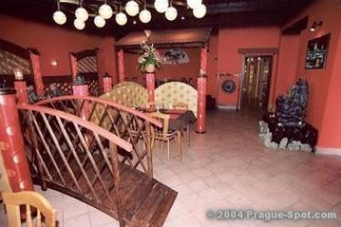 Hotel U Hvezdy: Salle de Petit Déjeuner PRAGUE