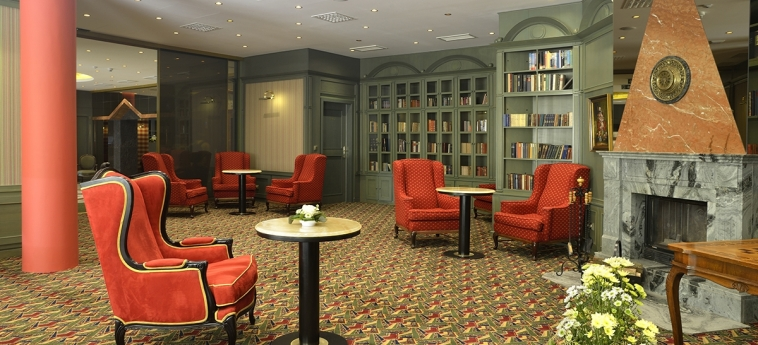 Hotel Savoy: Salle Relax PRAGUE
