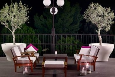 Hotel Park Plaza Histria: Terrace PULA - ISTRA