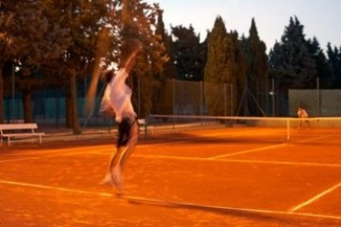 Hotel Park Plaza Histria: Tennisplatz PULA - ISTRIEN