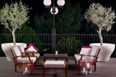 Hotel Park Plaza Histria: Terrasse PULA - ISTRIEN