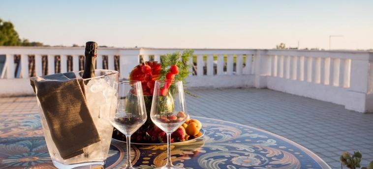 Hotel Tenuta Del Barco: Terrasse PULSANO - TARANTO