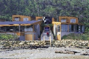 Hotel Punakaiki Rocks: Exterior PUNAKAIKI