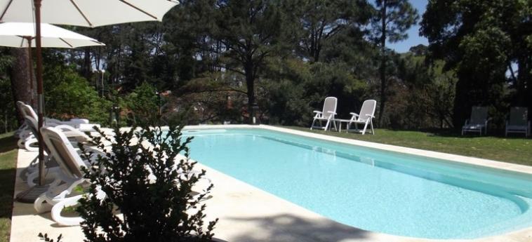 Josephine Boutique Hotel: Außenschwimmbad PUNTA DEL ESTE