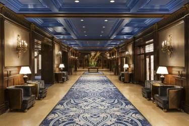 Hotel Fairmont Le Chateau Frontenac: Lobby QUEBEC CITY