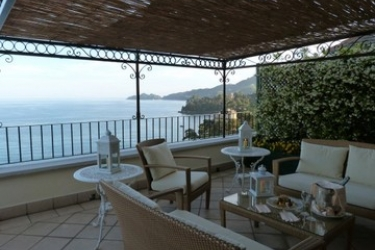 Hotel Excelsior Palace: Terrasse RAPALLO - GENES