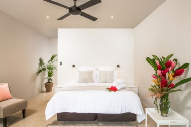 Hotel Pacific Palms Luxury Villa: Campo da Basket RAROTONGA