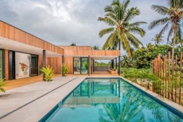Hotel Pacific Palms Luxury Villa: Piscina Esterna RAROTONGA