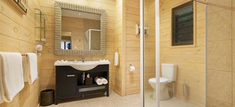 Hotel Sea Change Villas: Entrada RAROTONGA