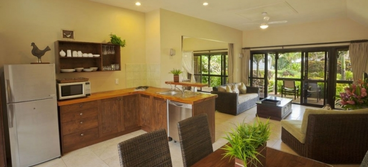 Hotel Sea Change Villas: Reception RAROTONGA