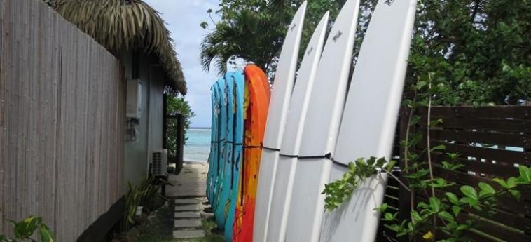 Hotel Sea Change Villas: Sala da Ballo RAROTONGA