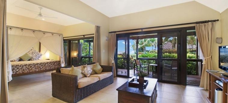Hotel Sea Change Villas: Cheminée RAROTONGA