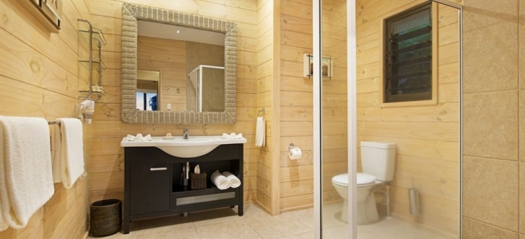 Hotel Sea Change Villas: Entrée RAROTONGA