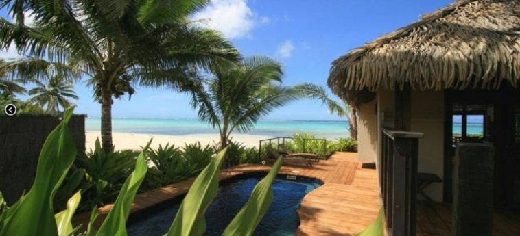 Hotel Sea Change Villas: Réception RAROTONGA