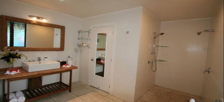Hotel Sea Change Villas: Aussicht RAROTONGA
