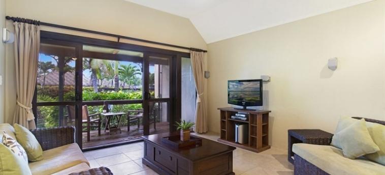 Hotel Sea Change Villas: Pinienwald RAROTONGA
