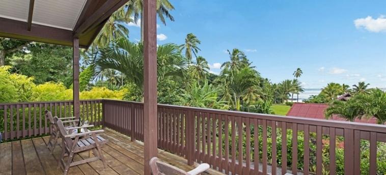 Hotel Sea Change Villas: Schlafzimmer RAROTONGA
