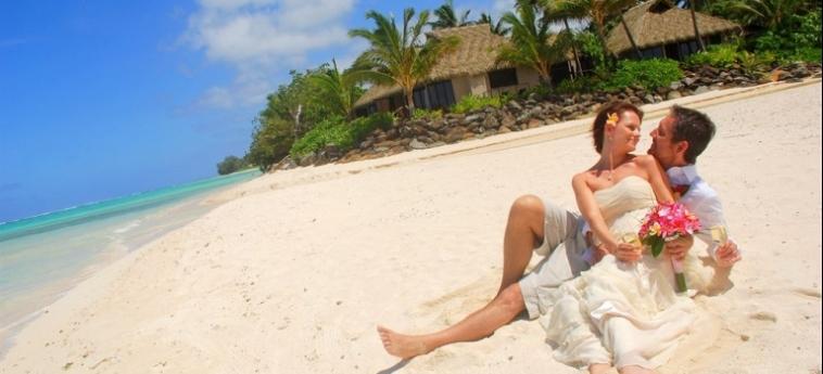 Hotel Sea Change Villas: Strand RAROTONGA