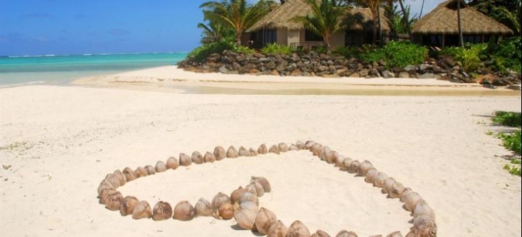 Hotel Sea Change Villas: Map RAROTONGA