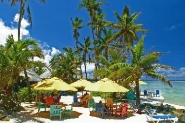 Hotel The Rarotongan Beach Resort & Spa: Ristorante Esterno RAROTONGA