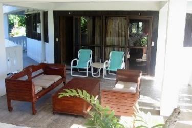 Raina Beach Apartments: Balcone RAROTONGA