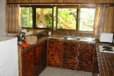 Raina Beach Apartments: Cucina RAROTONGA