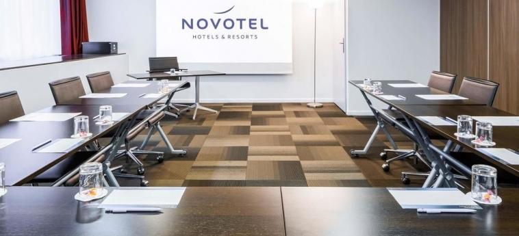 Hotel Novotel Rennes Centre Gare: Instalaciones para reuniones RENNES