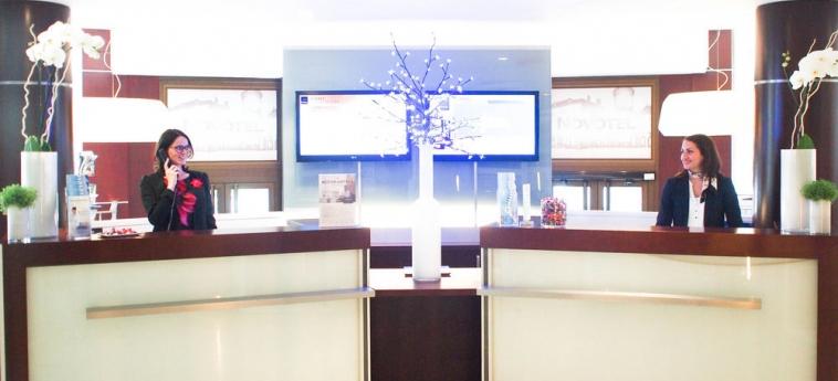 Hotel Novotel Rennes Centre Gare: Reception RENNES