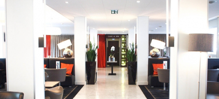 Hotel Novotel Rennes Centre Gare: Salon RENNES