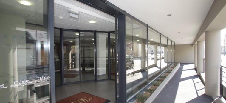 Odalys Appart'hotel Lorgeril: Entrada RENNES