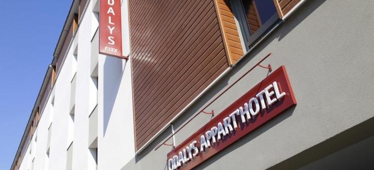 Odalys Appart'hotel Lorgeril: Facade RENNES