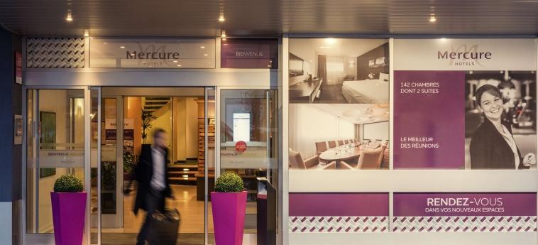 Hotel Mercure Rennes Centre Gare: Entrada RENNES