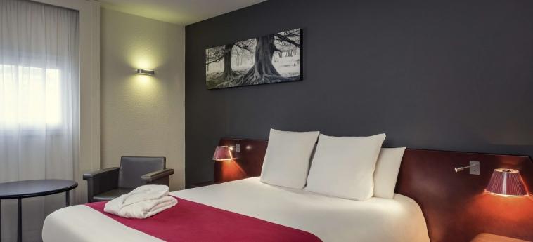 Hotel Mercure Rennes Centre Gare: Doppelzimmer RENNES