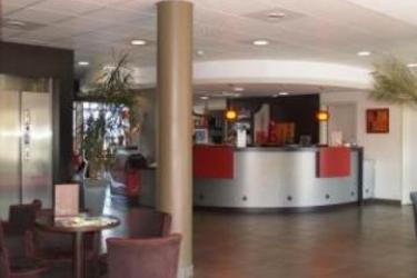 Brit Hotel Du Stade: Hotelhalle RENNES