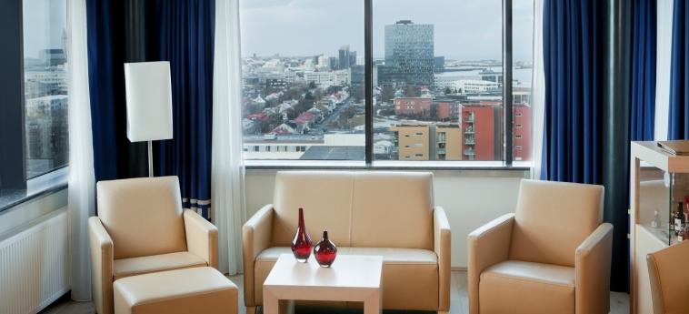 Grand Hotel Reykjavik: Paisaje REYKJAVIK