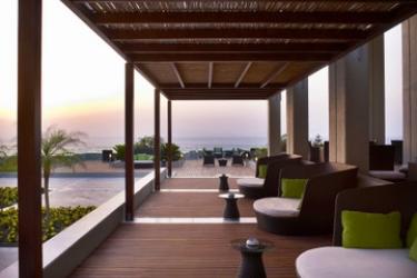 Hotel Sheraton Rhodes Resort: Terrasse RHODES