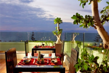 Hotel Sheraton Rhodes Resort: Panoramarestaurant RHODOS