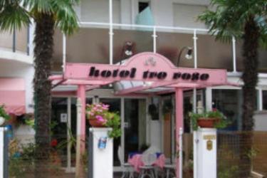 Hotel Tre Rose: Eingang RICCIONE - RIMINI