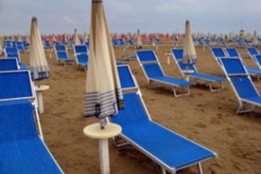 Hotel Feldberg: Spiaggia RICCIONE - RIMINI