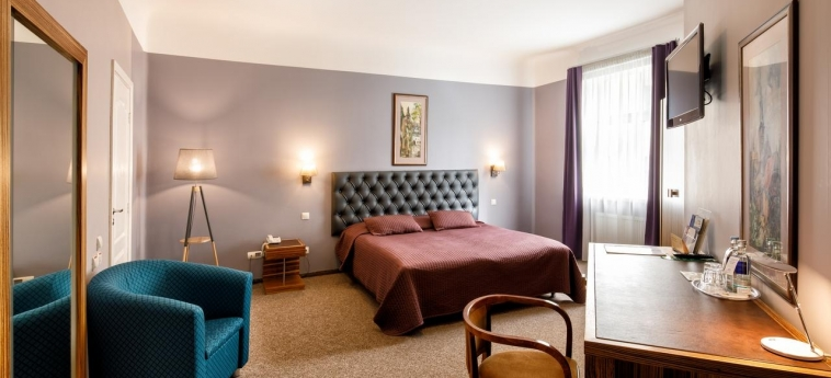 City Hotel Teater: Chambre Double RIGA