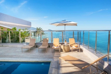 Hotel Golden Tulip Ipanema Plaza: Swimming Pool RIO DE JANEIRO