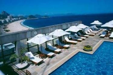 Hotel Pestana Rio Atlantica: Piscine Découverte RIO DE JANEIRO