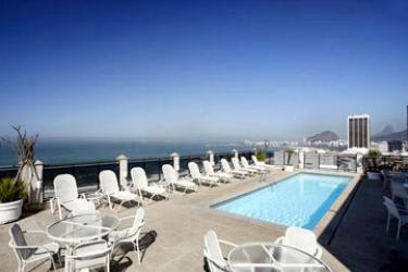 Hotel Novotel Rio De Janeiro Copacabana: Swimming Pool RIO DE JANEIRO