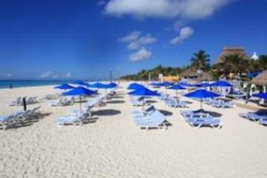 Hotel The Reef Playacar All Inclusive: Beach RIVIERA MAYA