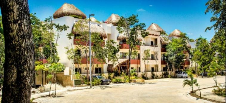Hotel Los Mijales Village: Exterieur RIVIERA MAYA